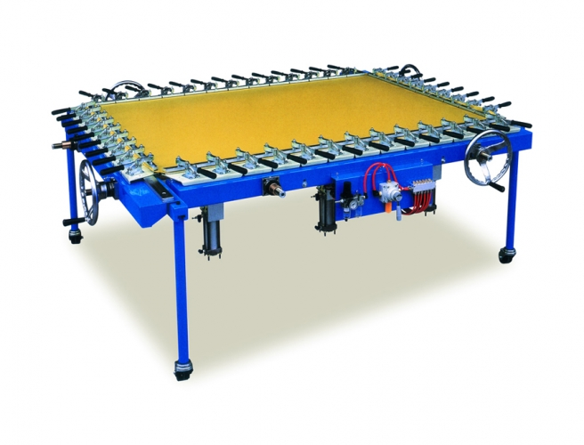 Thread-shaft Style Screen Stretching Machine