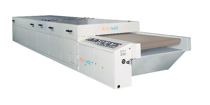 High Efficient UV+ Heating Jet Air Conveyor Dryer